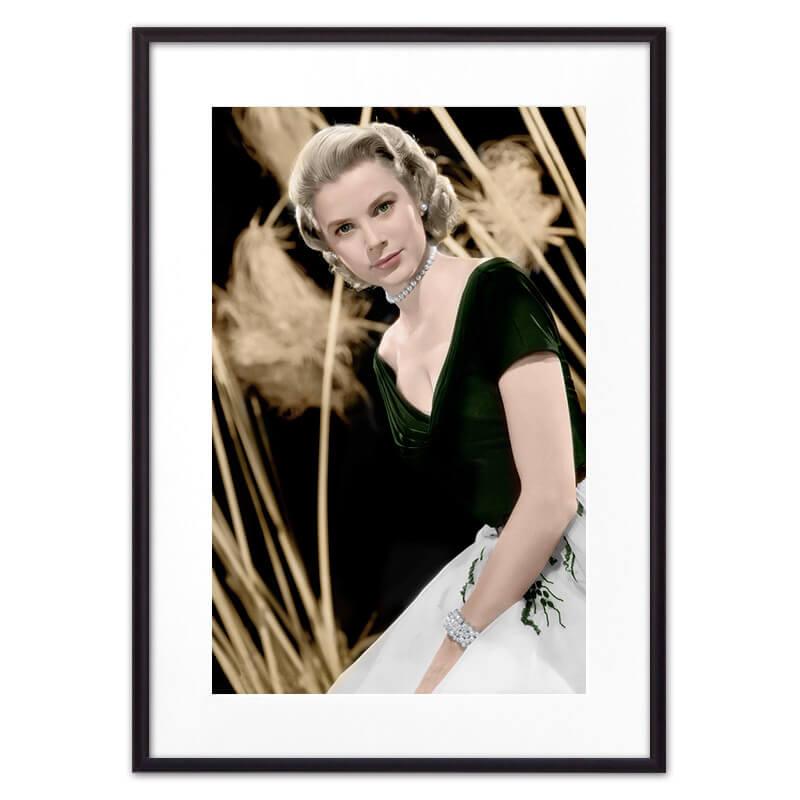 Постер в рамке Грейс Келли 1 30х40