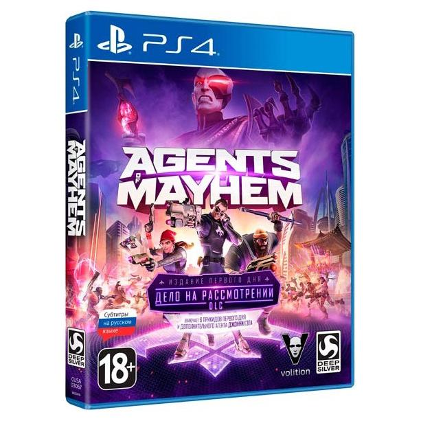 Игра Agents of Mayhem Day One Edition для PlayStation 4 фото