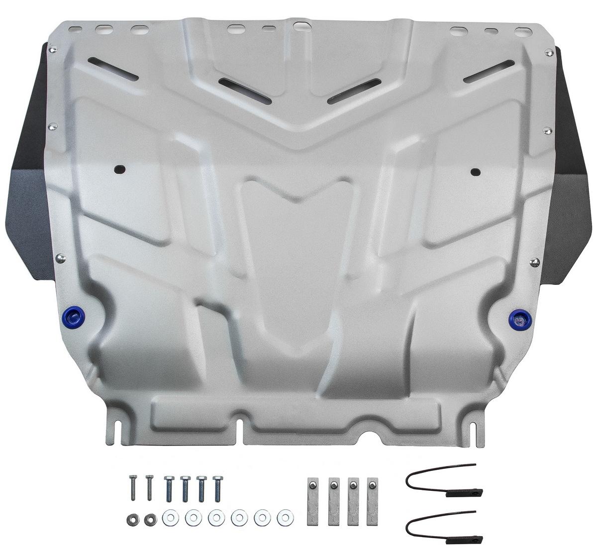 Защита картера и КПП Rival Ford C-MAX/Focus 05-19/Grand C-MAX 10-15/Kuga 08-13, 333.1850.1