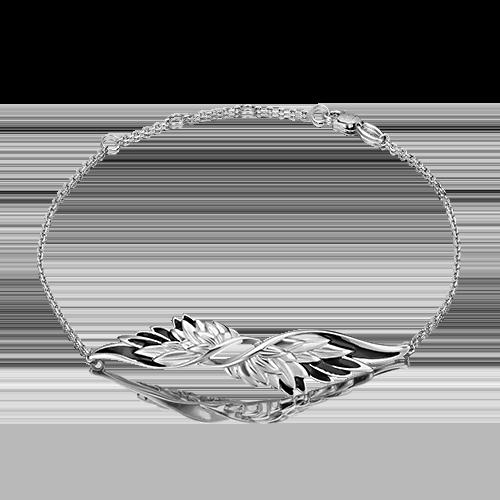 Браслет из серебра с эмалью PLATINA jewelry 05-0662-01-000-0200-68