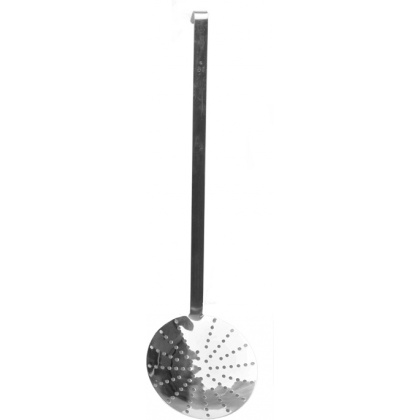 Шумовка нерж.ручка 40см ''Luxstahl''S Spoon 16''