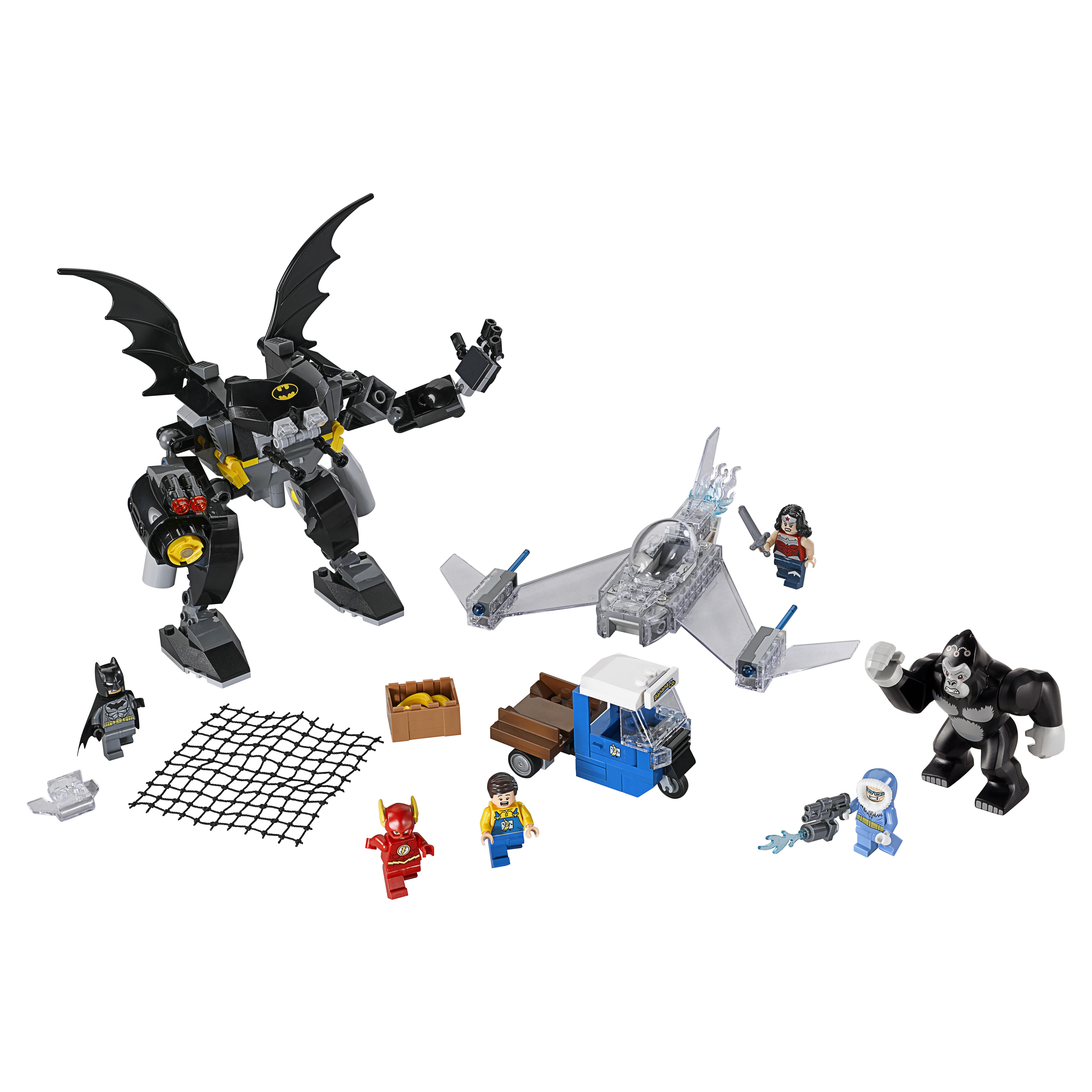 Конструктор LEGO Super Heroes Горилла Гродд сходит с ума (76026) Конструктор LEGO Super Heroes Горилла Гродд сходит с ума (76026)