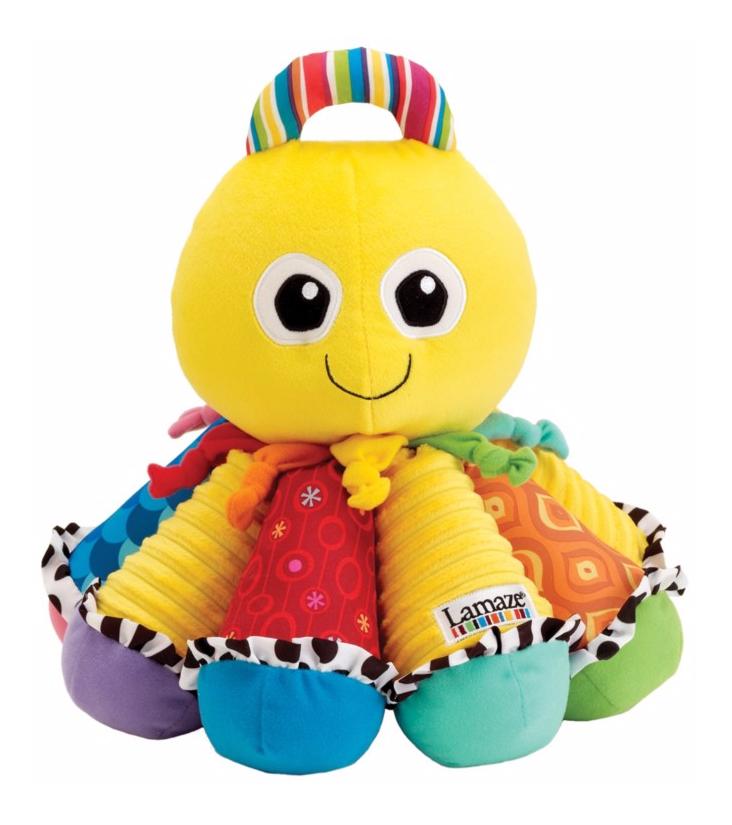 Развивающая игрушка Lamaze Музыкальный осьминожек фото