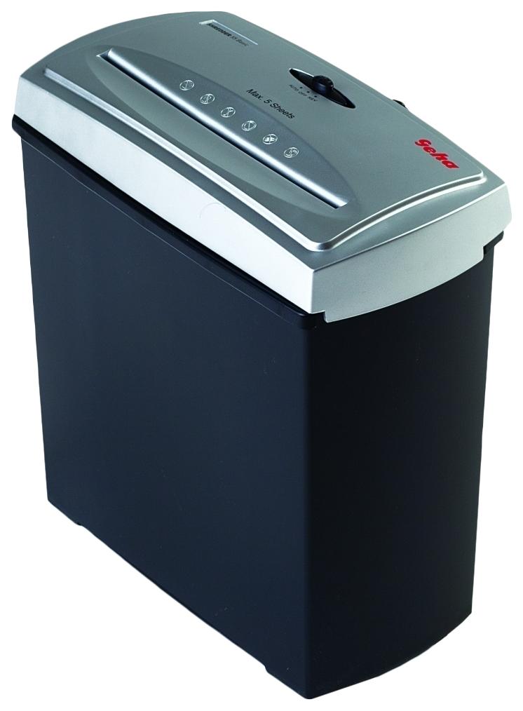 Шредер GEHA X5 Basic Серый черный.