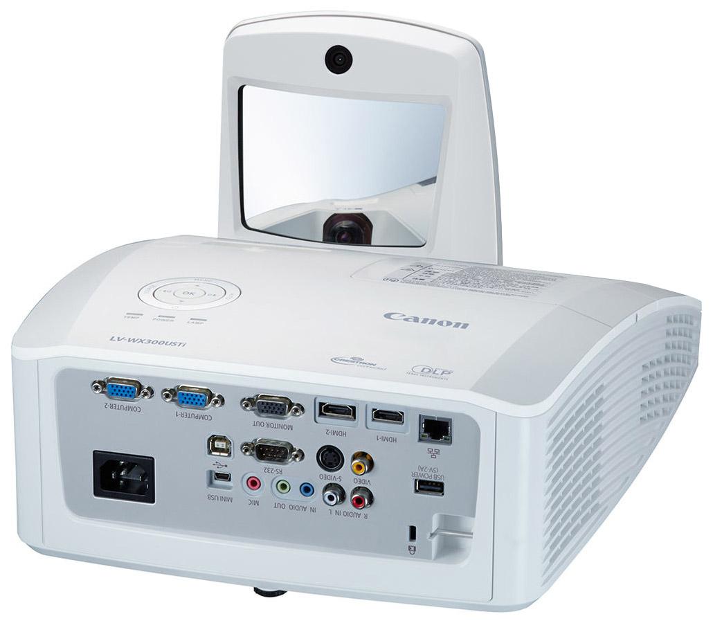 Видеопроектор Canon LV-WX300USTi 0647C003 Белый