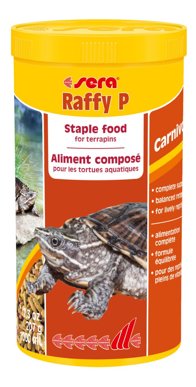 Корм для рептилий SERA Raffy P,1000мл фото