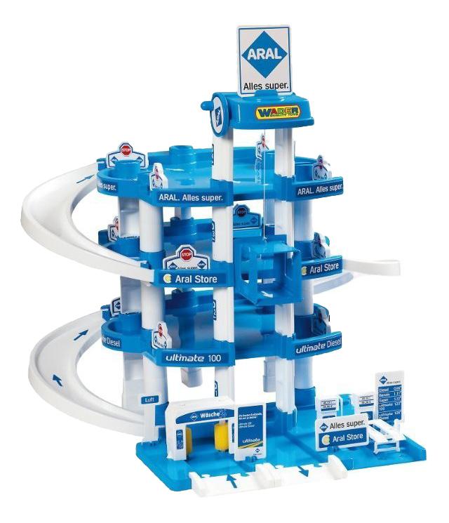 Парковка игрушечная Wader Aral 4 х уровневый
