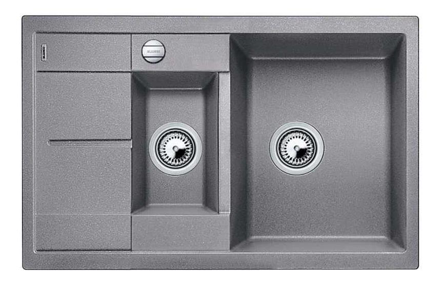 Мойка для кухни гранитная Blanco METRA 6 S Compact 513553 алюметаллик