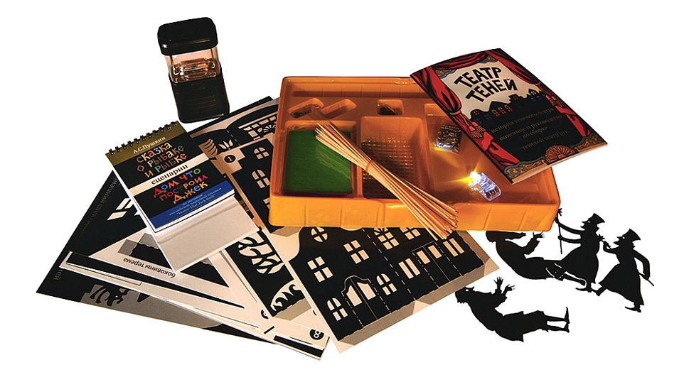 Купить Театр теней Новый формат в чемодане, Игровые наборы