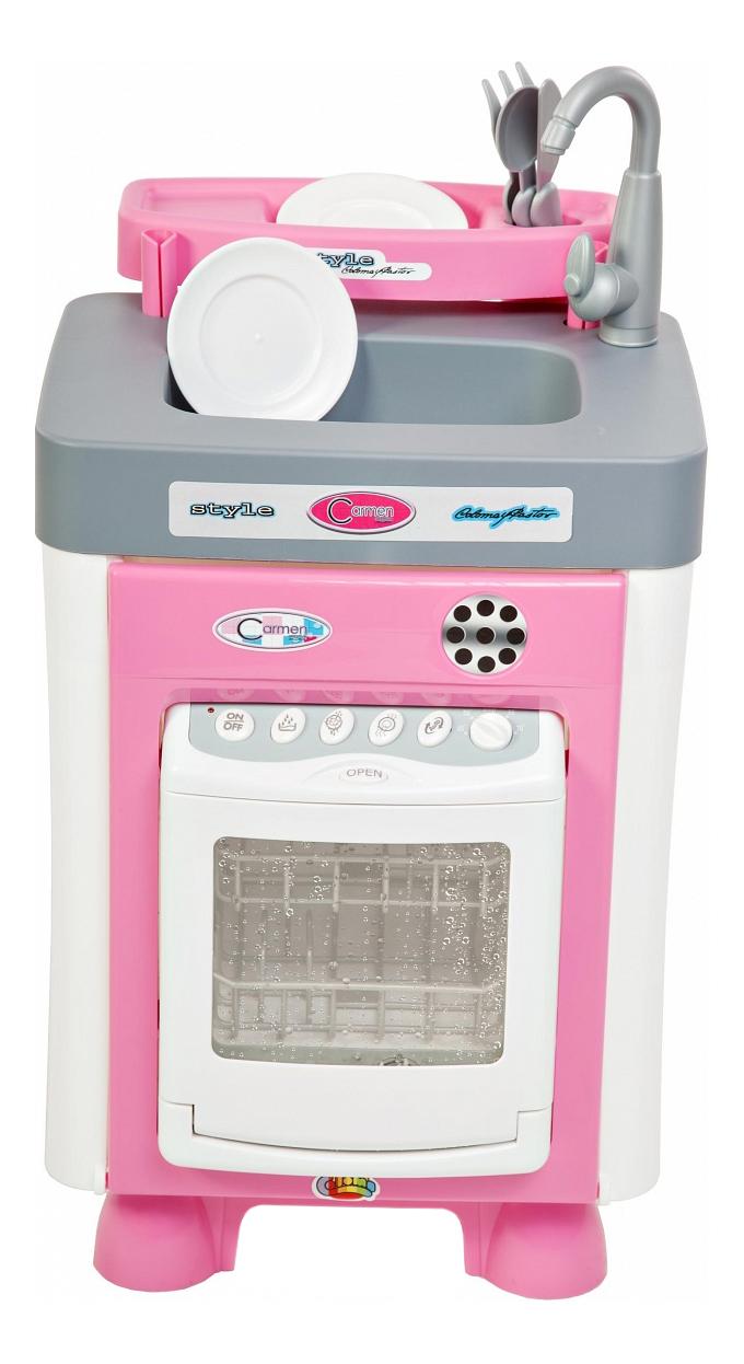 Купить Набор Полесье Carmen с посудомоечной машиной, Детская кухня и аксессуары