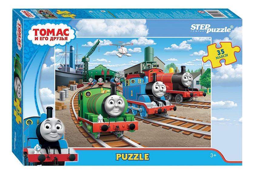 Купить Пазл Step Puzzle Maxi Томас и его друзья 35 деталей, Пазлы