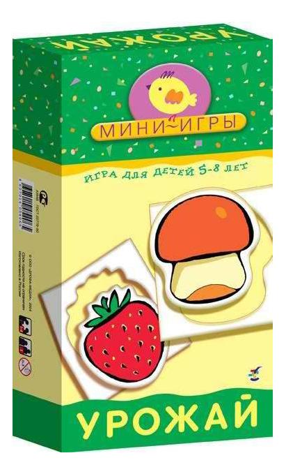 Купить Настольная мини-игра Дрофа-Медиа Урожай, Семейные настольные игры