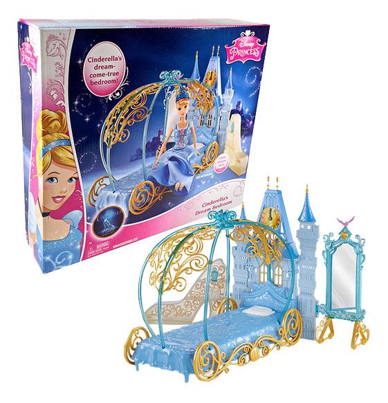 Мебель для кукольного дома Disney Princess Спальня