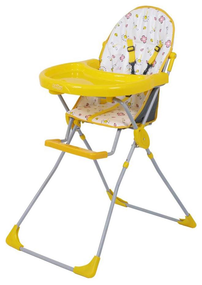Купить Стульчик для кормления Selby 152 желтый (0005600-04), Стульчики для кормления