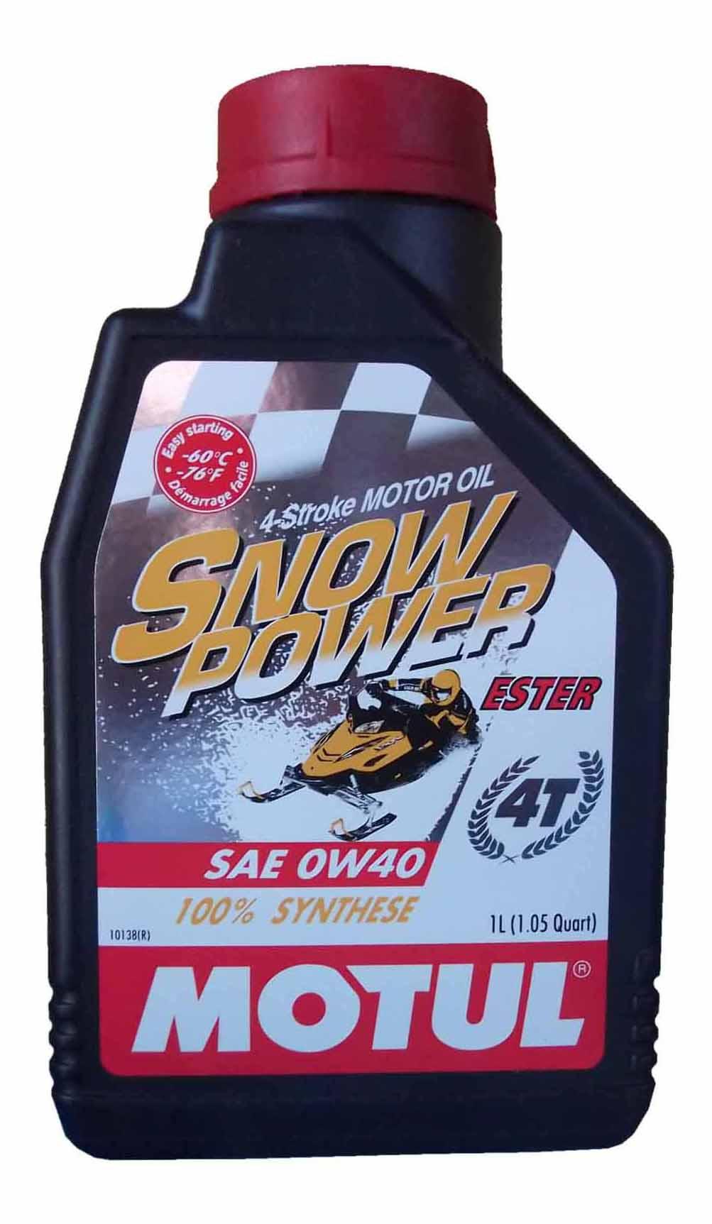 Моторное масло Motul Snowpower 4T 0w-40 1л 101230