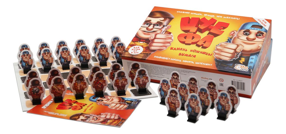 Семейная настольная игра Dojoy Камень, ножницы, бумага