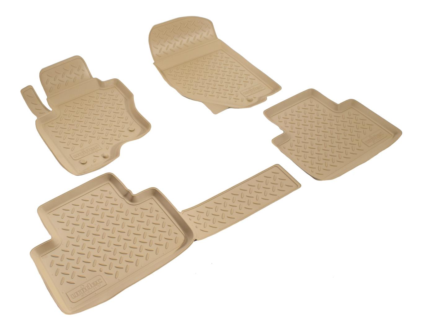 Комплект ковриков Norplast для Infiniti (NPL-Po-33-51Beige)