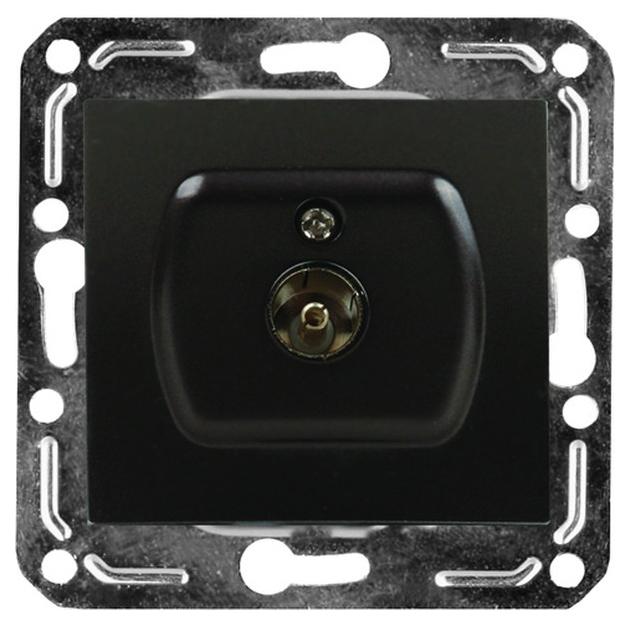 Розетка ТВ одноместная Volsten V01-14-T11-M фото