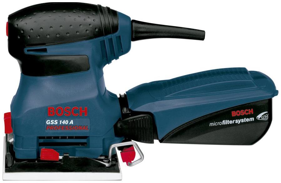 Сетевая вибрационная шлифовальная машина Bosch GSS 140 A 601297085