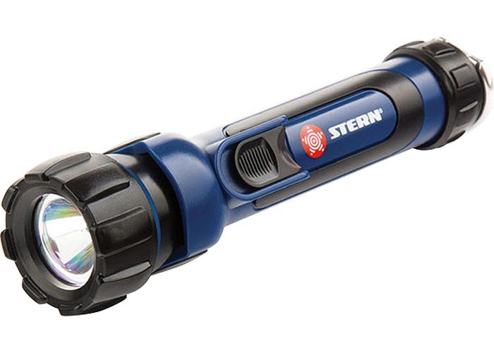 Туристический фонарь Stern 90520 черный/синий, 1 режим