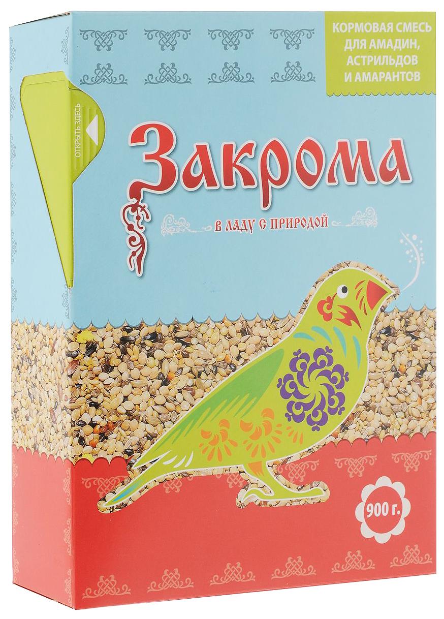 Основной корм Закрома для амадинов 900 г 1 шт.