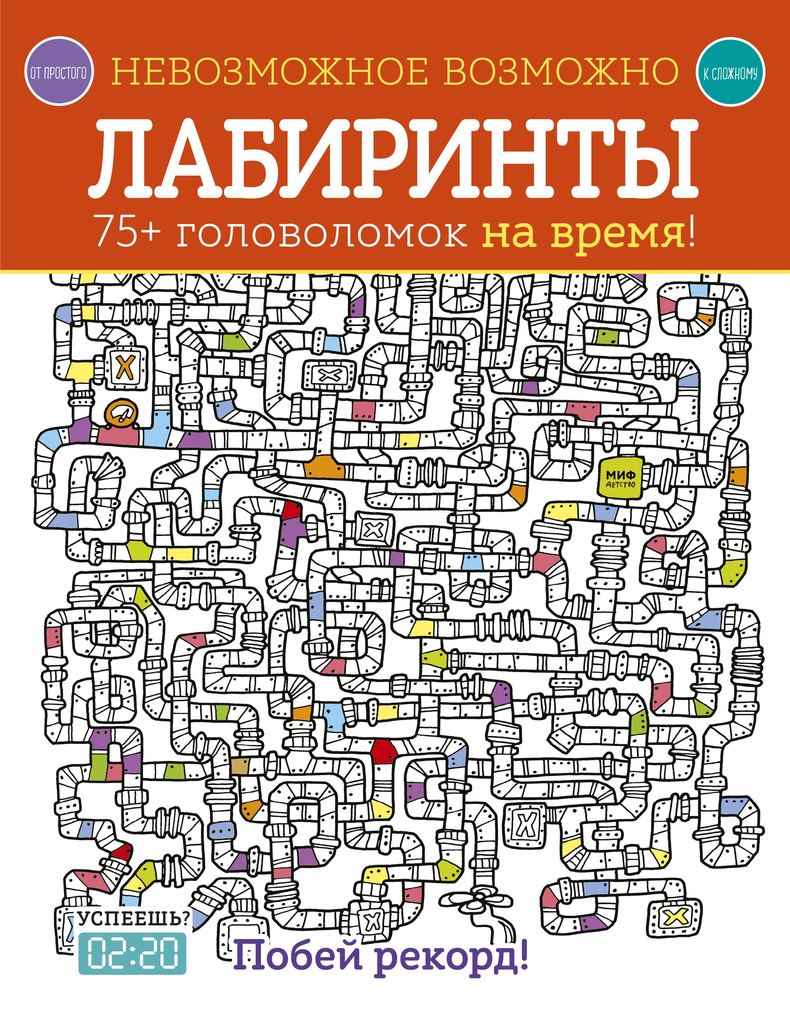 Купить Невозможное возможно. Лабиринты, Манн, Иванов и Фербер, Книги по обучению и развитию детей