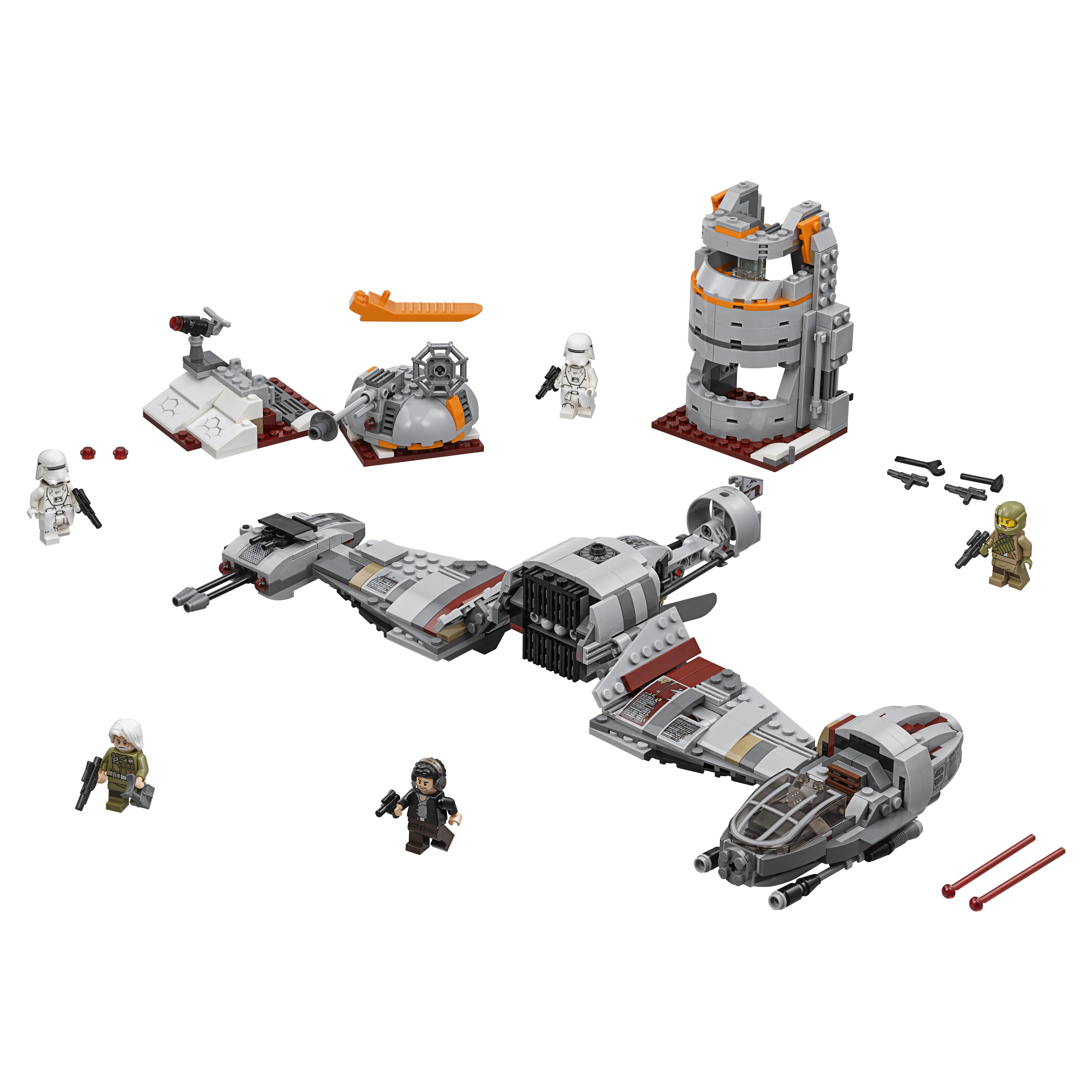 Конструктор LEGO Star Wars Защита Крайта (75202)