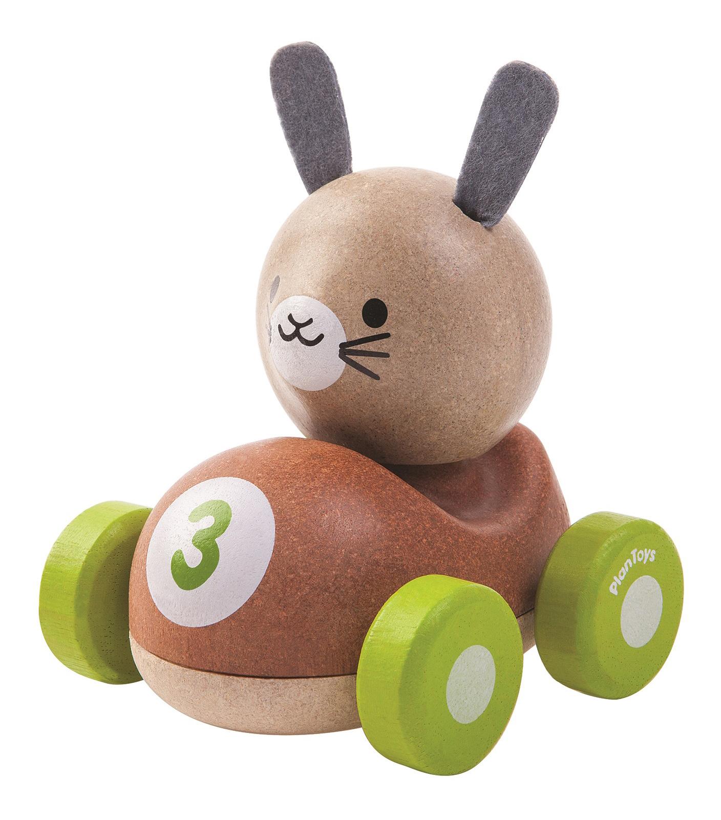 Купить Деревянная игрушка для малышей PlanToys Зайчик, Развивающие игрушки