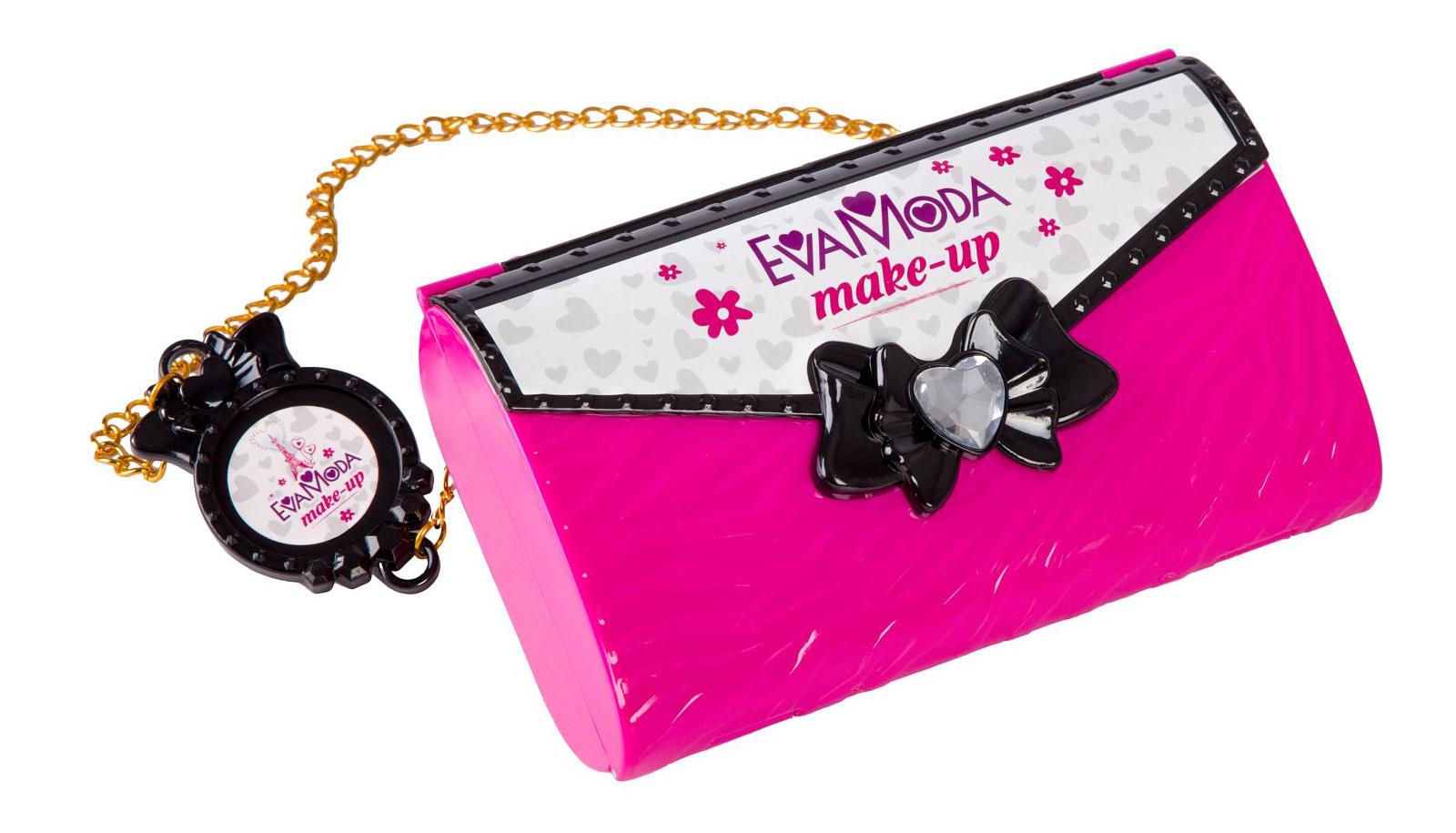 Купить Eva Moda. С ручкой, Косметичка-клатч с ручкой Eva Moda Bondibon ВВ2253, Детская косметика