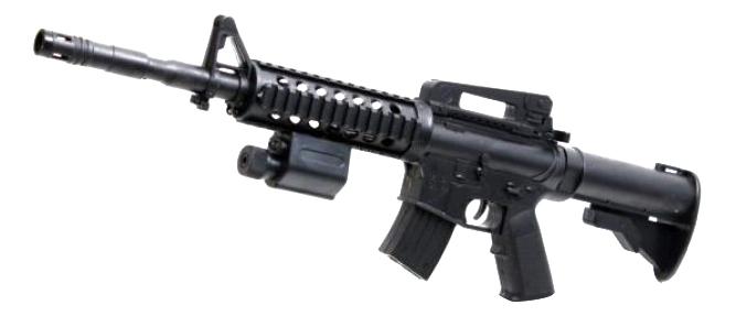 Купить Механическая Винтовка с лазерным прицелом Shantou Gepai ES771-M86APB, Стрелковое игрушечное оружие