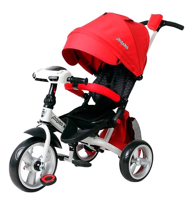Купить Leader 360° Eva Car красный, Велосипед Moby Kids Leader 360 Eva Car красный 641079, Детские велосипеды-коляски