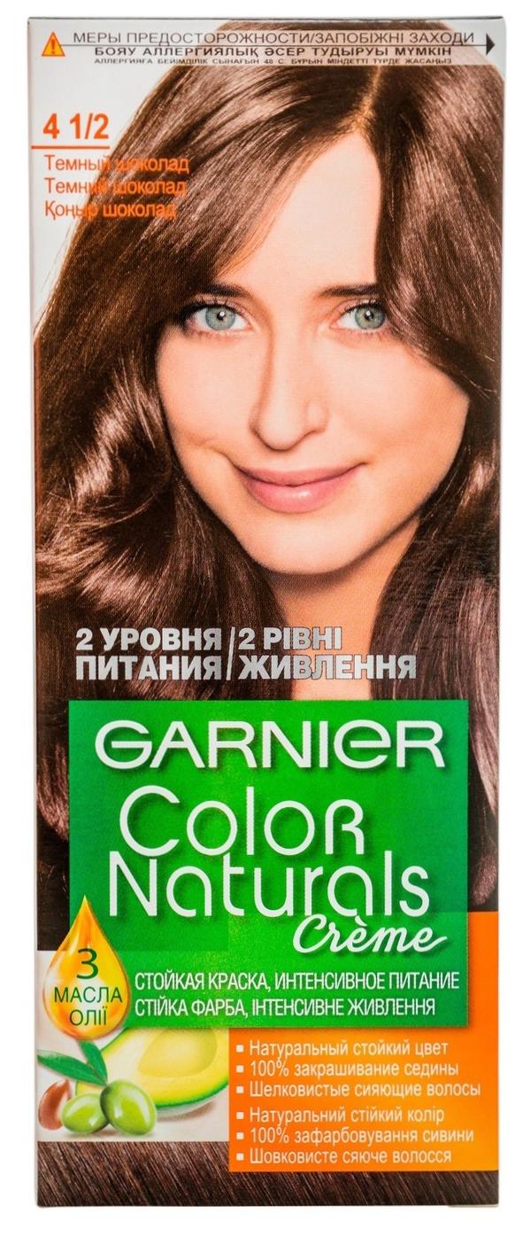 Краска для волос Garnier Color Naturals 4 1/2 Горький шоколад