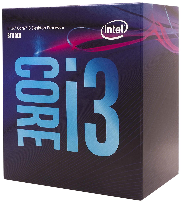Процессор Intel Core i3 8100 Box, Core i3-8100 (BX80684I38100)  - купить со скидкой