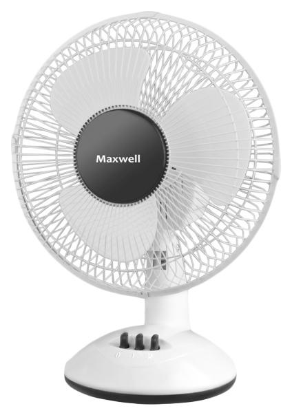 Вентилятор настольный Maxwell MW 3547 W white