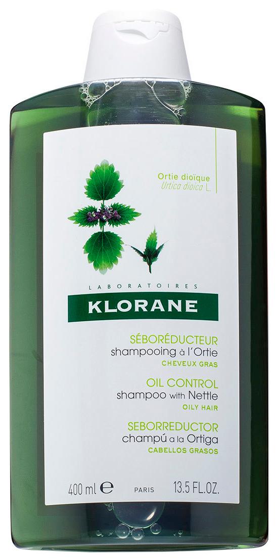 Купить Шампунь Klorane Oily Prone Hair С экстрактом крапивы для жирных волос 400 мл