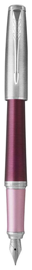 Ручка перьевая Parker Urban Premium - Dark Purple CT, F f310
