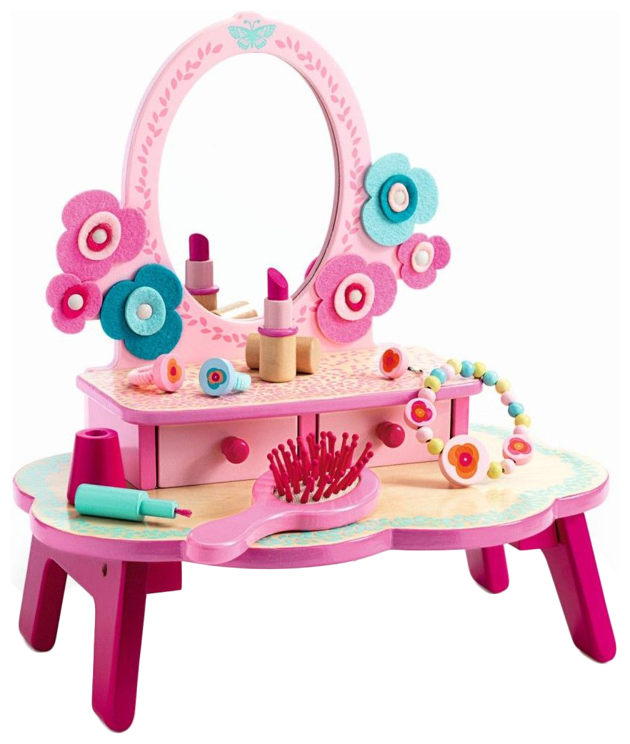 Туалетный столик Djeco 06553 Розовый