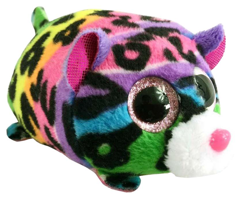 Купить Мягкая игрушка ABtoys Леопард мультиколор, 10 см, Мягкие игрушки антистресс