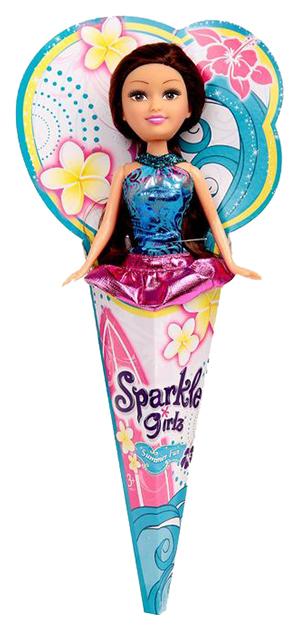 Купить Summer Fun Sparkle Girlz 24009, Кукла Sparkle Girlz в рожке 14, 5 см, Funville, Классические куклы