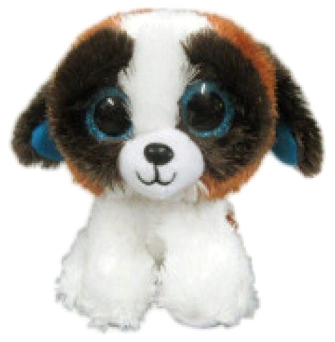 Купить 15 см Бело-коричневая, Мягкая игрушка ABtoys Собачка бело-коричневая, 15 см, Мягкие игрушки животные