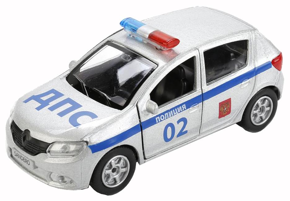 Машина спецслужбы Технопарк Полицейская машина Renault Sandero