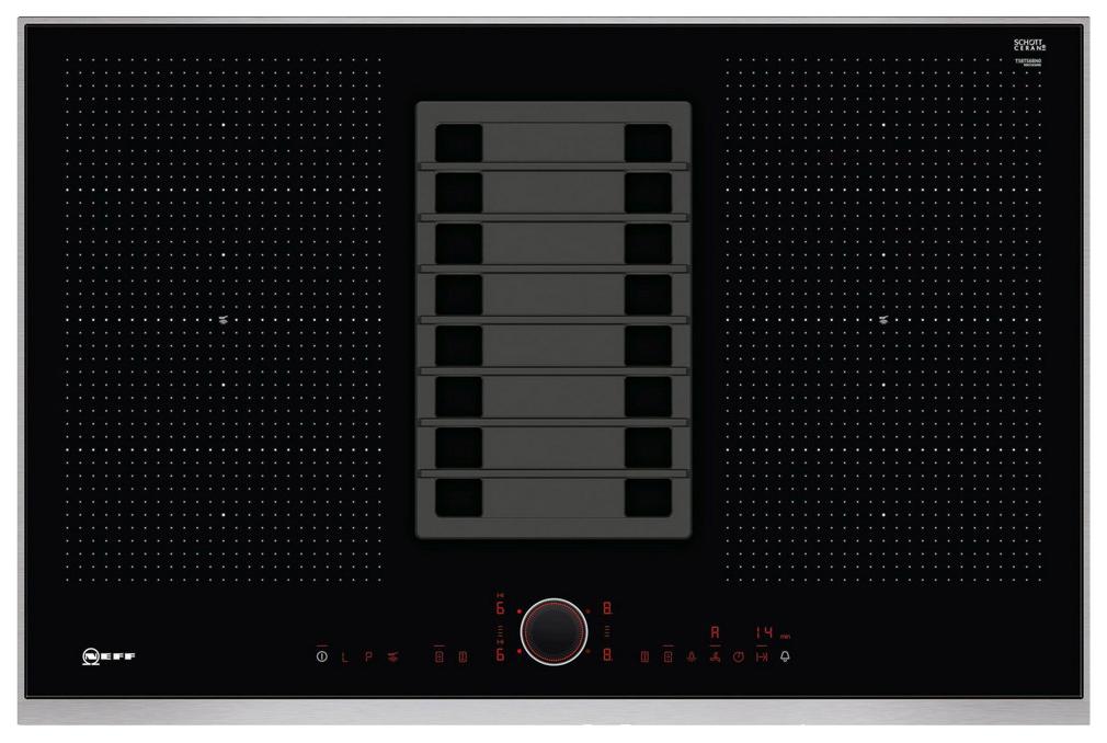 Встраиваемая варочная панель индукционная Neff T58TS6BN0 Black