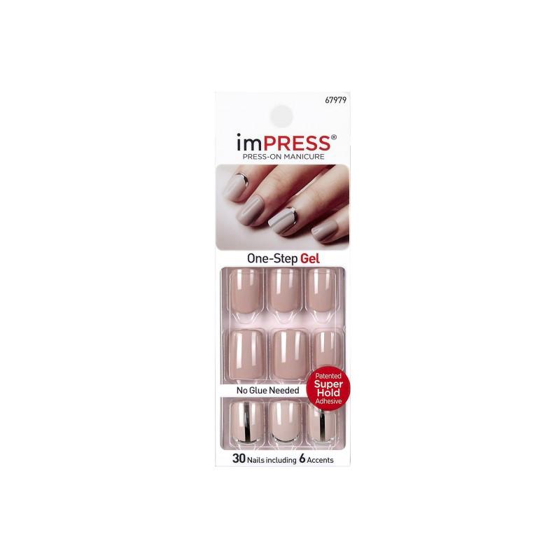 Накладные ногти Kiss BIPA120 Нюдовый стиль
