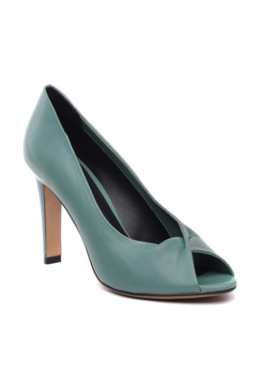 Туфли женские Vitacci 185829 зеленые 37 RU