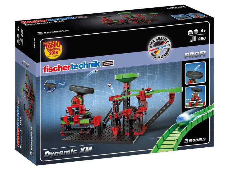 Купить Dynamic XM - Marble run / Динамика XM, Конструктор пластиковый Fischertechnik PROFI Dynamic XM - Marble run Динамика XM, Конструкторы пластмассовые
