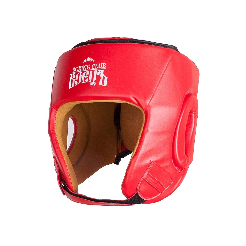 Шлем боксерский BHG 22 Красный, размер M
