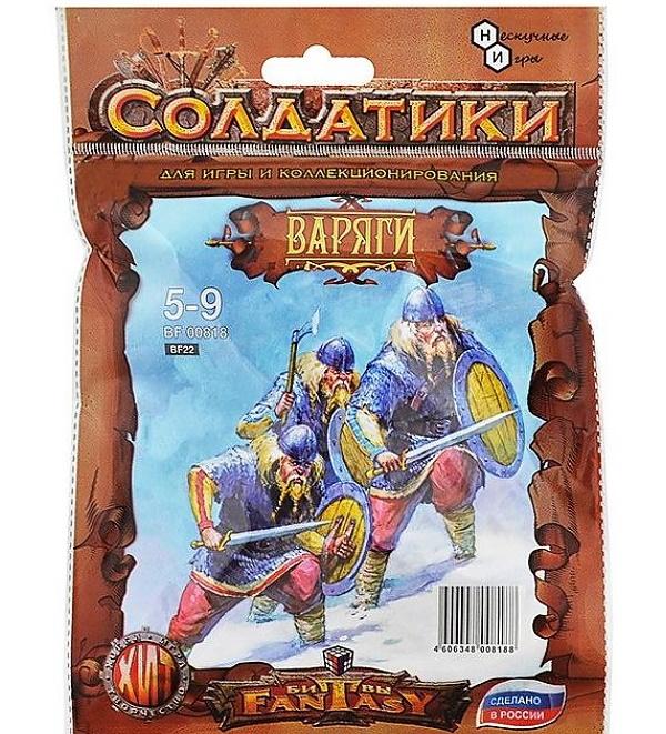 Купить Набор солдатиков Битвы Fantasy Варяги (V-VIII век) BF00818, Технолог, Игровые наборы