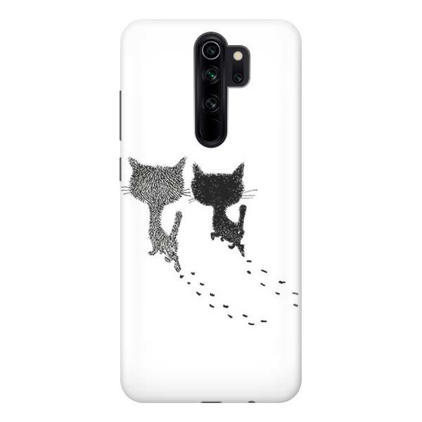 Чехол Gosso Cases для Xiaomi Redmi Note 8 Pro «Кошачьи следы»
