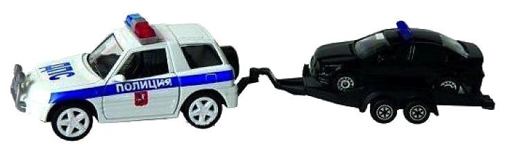 Машина спецслужбы Пламенный мотор Полиция ДПС, джип, машина