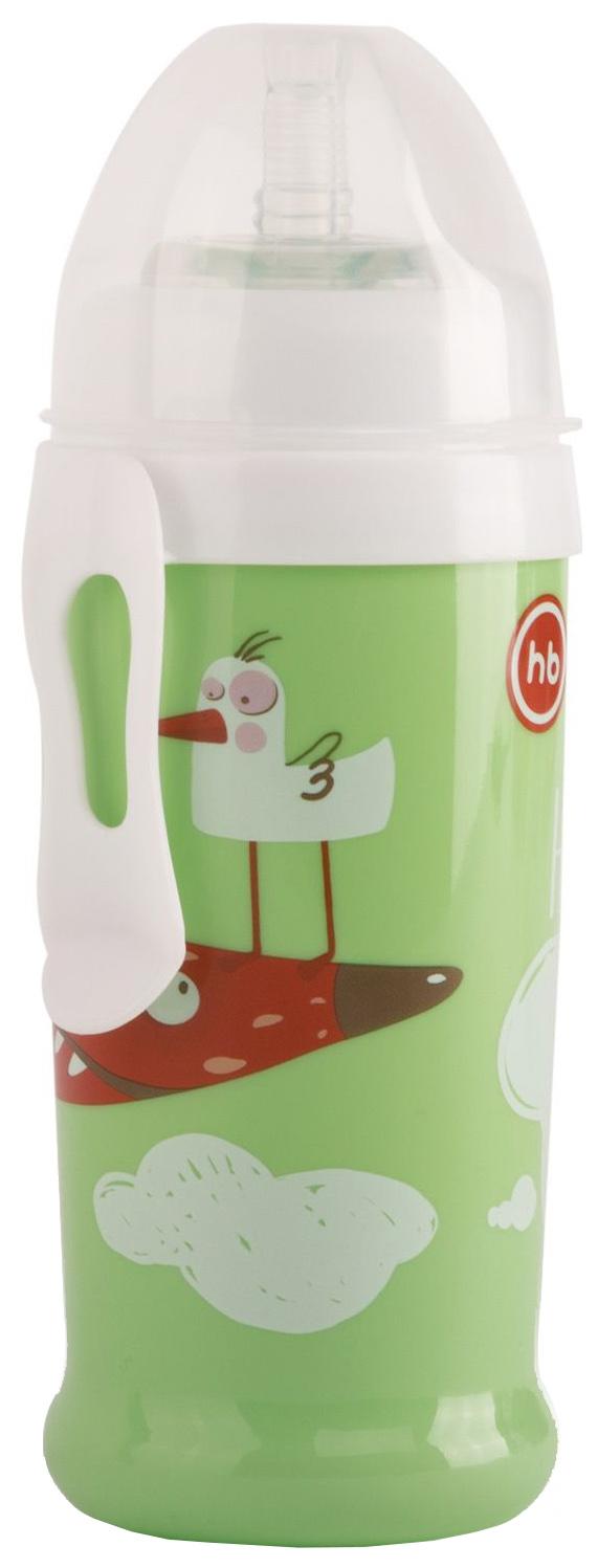 Купить Поильник для кормления Happy Baby , с трубочкой и прищепкой (цвет: grass), 360 мл, Поильники